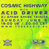 Cosmic Highway at Pure Radio Holland_Tribute to Earl Smith aka DJ Spank Spank_05JUNE2016_PT1