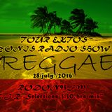 "REGGAE TOUR EKTOS ZONIS RADIO SHOW"" 28/July/ 2016 RODON95FM T.J.R .Selections 3.30 hrs mix"""