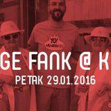 Bege Fank @KGB 29. 1. 2016. БЕГЕФАНК IZ XX VEKA!!!