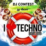 DJ Tochy - I Love techno boat (2019) - DJ CONTEST WINNER!