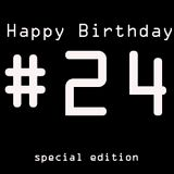 Happy 24# Birthday mix
