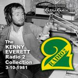 Kenny Everett - Radio 2 - 3-10-1981