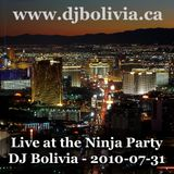 DJ Bolivia - Live at the Ninja Party