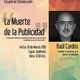 La muerte de la Publicidad con Raúl Cardós en Radio Anáhuac