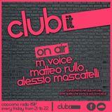 RULEZ for Club It (radio show) [COMO-ITALY]