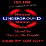Opentempo Underground House Music Mix Show 10/11/2019