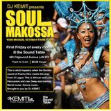 DJ Kemit presents Soul Makossa March 2016 Promo Mix