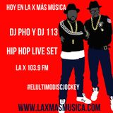 DJ 113 & DJ Pho Mix (La X Más Música) Junio 05