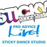 Pro Advice Live! - Sticky Dance Studio - Live! Arts Radio Birmingham
