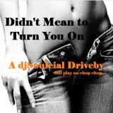 DIDN'T MEAN 2 TURN U ON A  DJSOULCIAL DRIVEBY