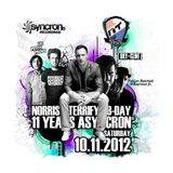 Norris Terrify LIVE! at Sky Club Leipzig, DE (Norris B-Day Bash) 2012-11-10 [ASYNCRON® Radio]