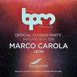 Marco Carola @ BPM 2015 blueparrot (2H45Min) 18-1-2015