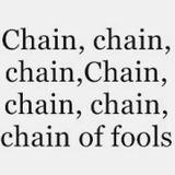 CHAIN OF FOOLS REMIXED From TUNISIA By Souheil DEKHIL