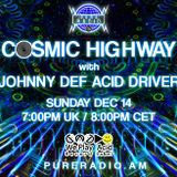 Cosmic Highway @ Pure Radio (Amsterdam) 14.12.2014_Pt1