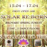 Alex DjInn - Solar Re:Born // First Open-Air (15-17.04.2017)
