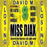 2016-03-11 David M.@ Fuse *RetroHouseParty* - Closing -
