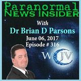 Paranormal News Insider with Host; Dr. Brian Parsons_20170606_316
