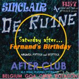 DJ SINCLAIR H57 THE RU1NE after party on saturday's morning ( Fernand's birthday)