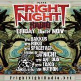 Fright Night Radio 16th November Ant Dub