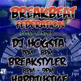 DJ Hogsta.Breakbeat Federation 09/09/18 Universal Dance Radio!!
