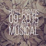 HOTEL PARADIS # 0915