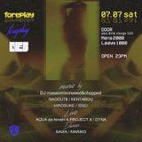 foreplay live mix  DJ KENTAROU CLOSE