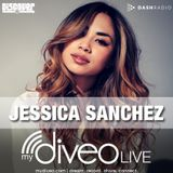 Jessica Sanchez mydiveo LIVE on Dash Radio