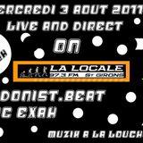 """Edonist-beat ft Mc Exah @ """"muzik à la louche"""" sur """"La Locale"""" radio 97.3Fm st girons"""