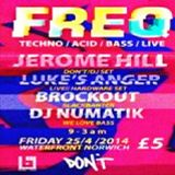 Luke's Anger (Live PA) @ FREQ Presents: DON'T! Recordings - The Waterfront Norwich - 25.04.2014