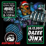 The Ruffneck Ting Takeover With Dj Dazee And Guest Mix Jinx 14th December 2017