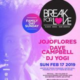 Break For Love Family Day Promo Mix 2019 by DJ Yogi (Solid Garage Toronto)