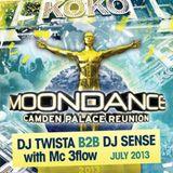 Twista B2b Sense Moondance Camden Palace 2013 - 92-93 old skool