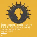 One More Tune #64- Ras Lion Guest Mix - RINSE FR - (05.03.2017)