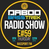 BASS TREK 59 with DJ Daboo on bassport.FM