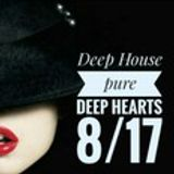 Deep House pure Deep Hearts 8/17