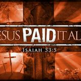 Proof of Purchase – Jesus Paid it All