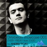 Andrei Ticau - Dirtybeats Showcase 001 @ Mplus FM (30.08.2013)