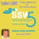 TeeBee's Shrine Room Mix at SSW5 5th June 2015