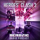 NerdzigRadio 46 (LINK REPARIERT): Heroes' Clash 3 - Alte vs. Neue Helden
