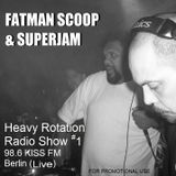 Fatman Scoop and Superjam Live Radio show on 98.8 KISS FM (Berlin)