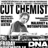 Cut Chemist - Live from DNA Lounge 11-14-2008 (5 Hour Set)