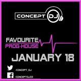 Concept - Favourite Prog-House January 18 (03-01-2018)