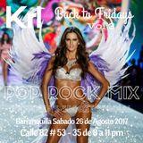 KRL - Back To Fridays - Volumen 3 - Pop Rock Mix 1 - Podcast 18