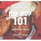 Emmanuel Forlani - HIPHOP101 - 018 - Best Of 2015