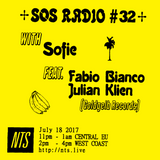 SOS Radio w/ Sofie, Fabio Bianco & Julian Klien - 18th July 2017
