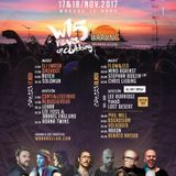 Stephan Bodzin - Live @ Warung Beach Club 15 Years (Itajai, BR) - 17.11.2017