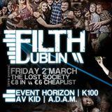 Filth Live set 2/3/2012