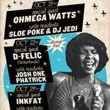 D-Felic DJ set @ Motown on Mondays