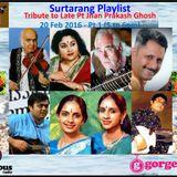 Surtarang Pays Tribute to Padma Bhusan Late Pt Jnan Prakash Ghosh