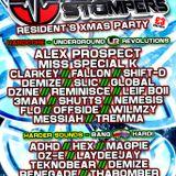 Teknobear & MC Nemesis D @ BANGHARD (room 2) Adrenaline Stompers Xmas Residents Party, DEC 22nd 2012